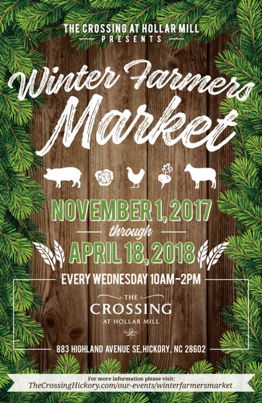 winter farmers market the crossing at hollar mill